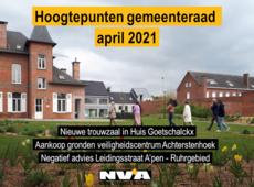 Gemeenteraad april 2021