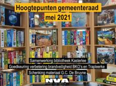 Gemeenteraad mei 2021