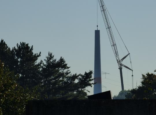 windmolen bouw