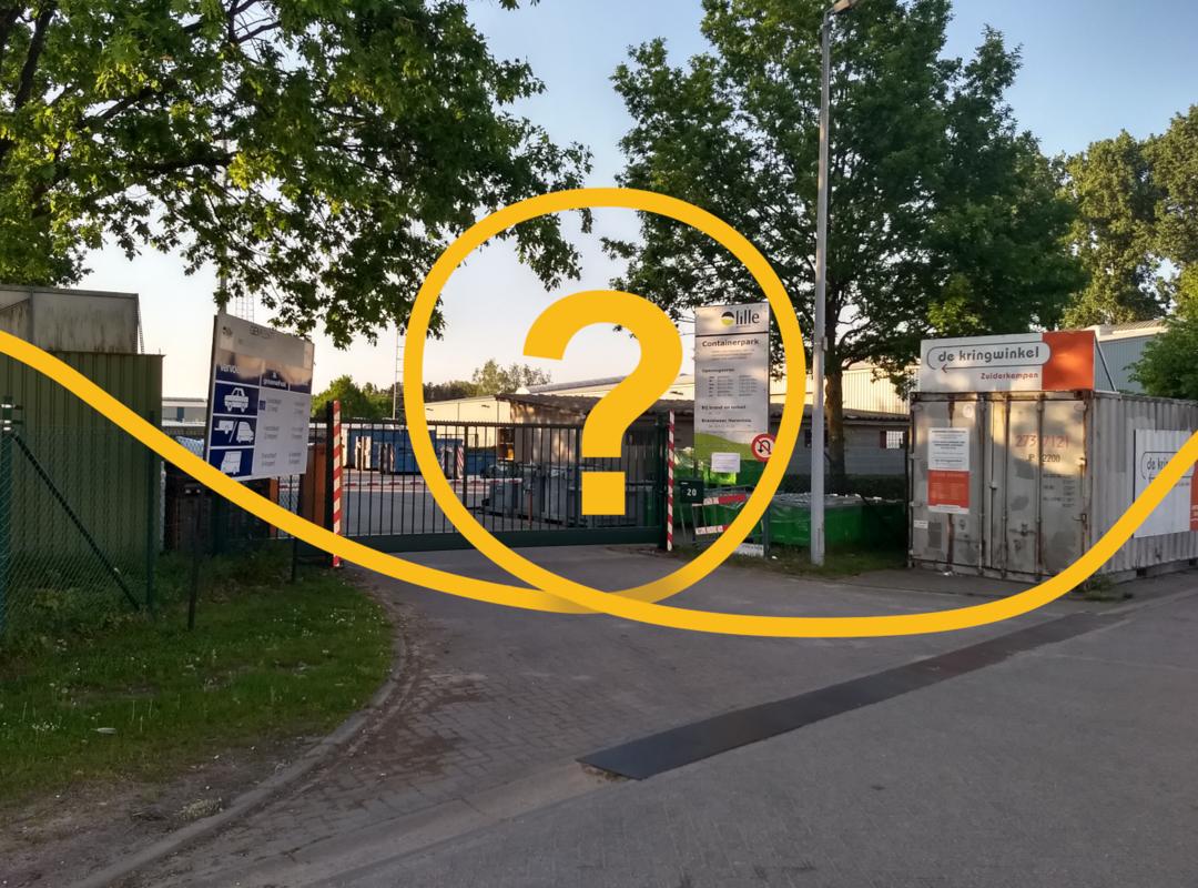 Wat staat er te gebeuren met het containerpark?